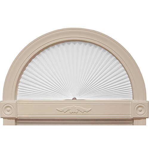 Redi Shade Fabric Arched Window Shade, - Fan Shade