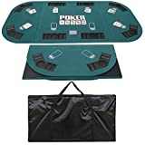 Best Poker Table Tops - LEMY 8 Players Texas Texas Hold'em Poker Table Review