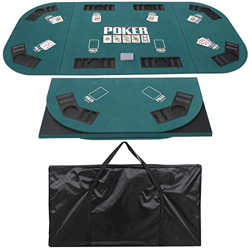 - LEMY 8 Players Texas Hold'em Poker Table Top 71x35