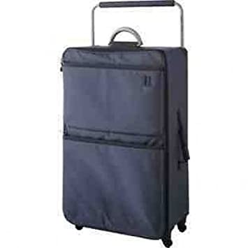 IT World's Lightest Large 4 Wheel Suitcase - Charcoal (991394088 ...