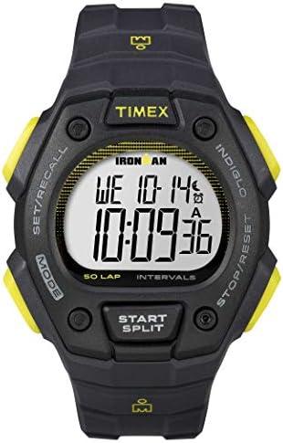 Timex Ironman 50 Lap Classic Watch Dark Grey Lime