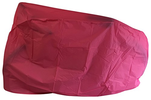 Alderama Outdoor Waterproof Bicycle and Electric Scooter Cover for BMX Mountain Bikes Mopeds and Adult Trikes Fuchsia Pink