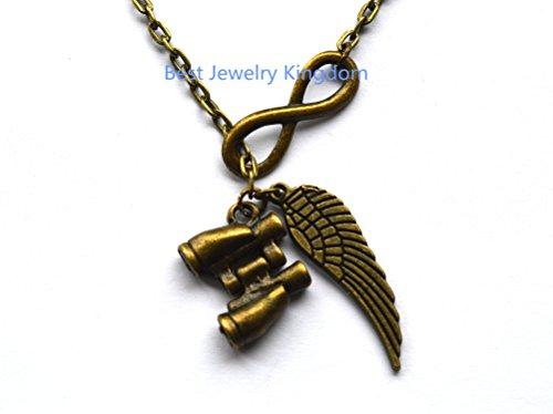 Telescope Necklace -Binocular Necklace -Nautical Necklace,