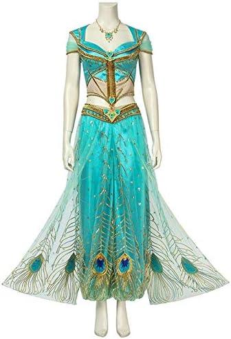 WSJDE 2019 Indian Movie Aladdin Disfraz Princesa Jasmine Cosplay ...