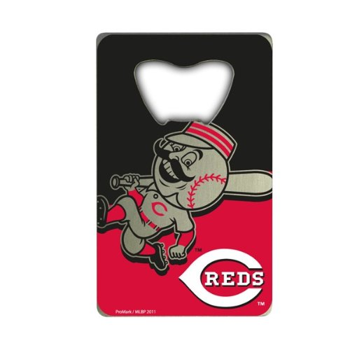 Team ProMark MLB Cincinnati Reds Credit Card Style Bottle (Cincinnati Reds Bottle)