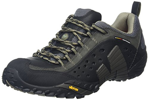 Merrell Men's Intercept Smooth Black Leather 10.5 M US ()