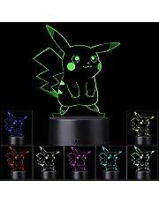 3D Illusion LED-nachtlampje, 7 kleuren Geleidelijk veranderende aanraakschakelaar USB-tafellamp voor vakantiegeschenken of woondecoraties (3D-dier)