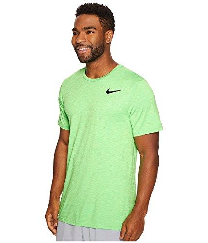 Jordan Nike Løpetrening T-skjorte Spøkelse Grønn / Svart
