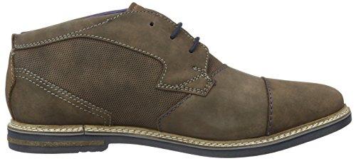 Bugatti 311183011500, Zapatos de Cordones Derby para Hombre Marrón (d.braun 6100d.Braun 6100)