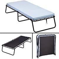 Folding Guest Bed Frame, With Comfort Foam Mattress