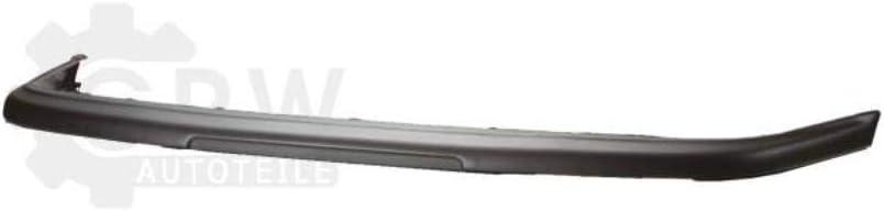 09.91-98 ABS Kunststoff Sto/ßstange vorne Oberteil schwarz f/ür 3 Bj