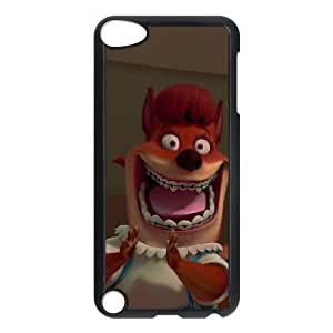 iPod Touch 5 Phone Case Black Chicken Little Foxy Loxy NJH9886690