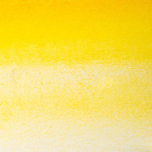 White Nights Artists' Watercolour - Semi-Dry Whole Pans in Plastic Cups - Naples Yellow Light (219) (A)