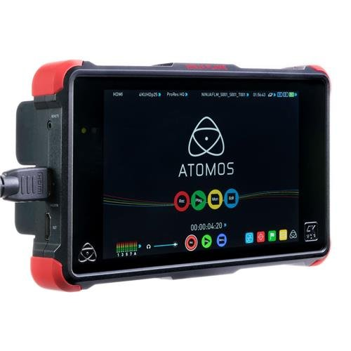 Atomos Ninja Flame 7'' Recording Monitor with 1920x1200 Display - Supports 4K UHD, ProRes HQ, 422, LT, AVID DNxHR, HQX, HQ, SQ, LB Codecs by Atomos