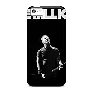 New Style SaladCases Hard Case Cover For Iphone 5c- Metallica