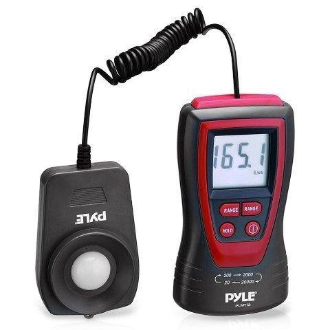 Sound Around-Pyle PLMT12 Handheld Lux Light Meter Photometer