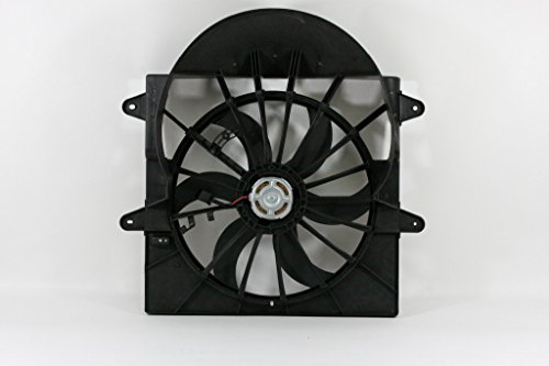 jeep grand cherokee cooling fan - 8