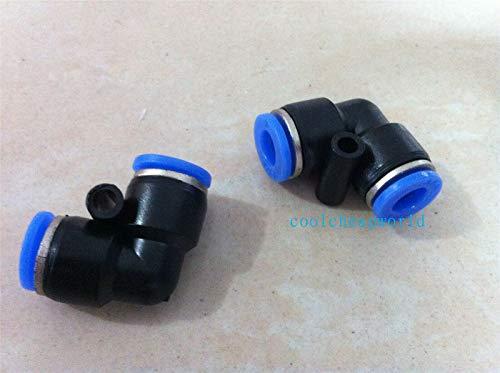 FidgetFidget 5pcs 4mm ID Connectors Elbow Fitting Equal L