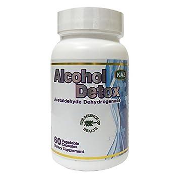 Amazon com: KAZ Alcohol Detox: Health & Personal Care
