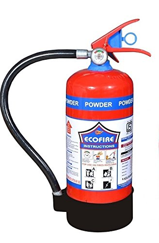 eco fire abc powder type fire extinguisher 4kg amazon in home