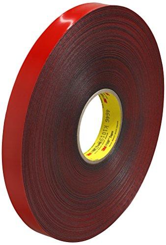 UPC 888519073407, 3M VHB Tape 4646, 0.25 in width x 5 yd length, 1 roll