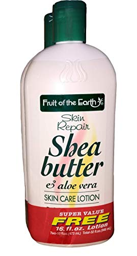 Fruit of the Earth Shea Butter Aloe Vera Skin Repair Body Lo