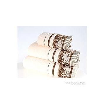 Serra Home Hotel y Spa coresoft Jacquard toalla 70 130 Pretoria crema suave algodón turco toalla