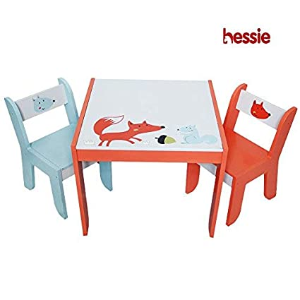 aac1b50b498d3 Image Unavailable. Image not available for. Color  hessie Little Toddler  Kids Activity Play Table Chair Set ...