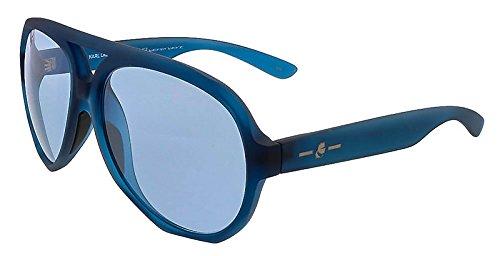 KARL LAGERFELD Sunglasses KL001S 425 Dark Blue Matte - Karl Lagerfeld Sunglasses