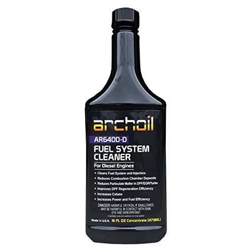 AR6400-D (16 Oz) - Professional Diesel Fuel System and Engine Cleaner (Treats 25 Gallons of Diesel) ARCHOIL AR6400D-16