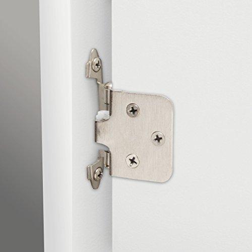 Buy kitchen cabinet hinges nickel variable overlay BEST VALUE, Top Picks Updated + BONUS