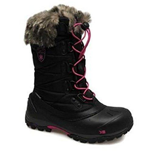 Snow Ladies UK 7 Black Boots Karrimor UK Alaska Pf58wqvxE