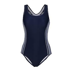 - 41rw9vYYpLL - Uhnice Women's One Piece Swimsuits Racing Training Sports Athletic Swimwear