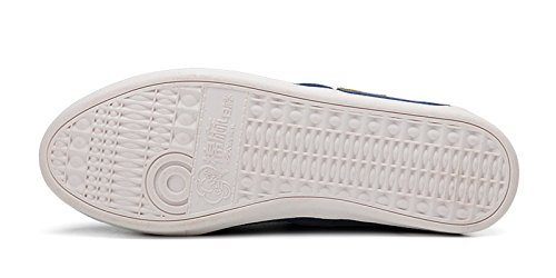 Womens Flat VenusCelia On Classics Slip Loafer Blue Womens VenusCelia YqET4q