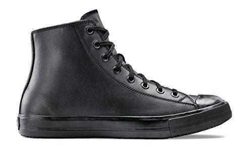 10 10 Lederschuhe Lässige 45 Unisex Crews Schwarz UK PEMBROKE Shoes Größe 37711 for qxw6IWOvF