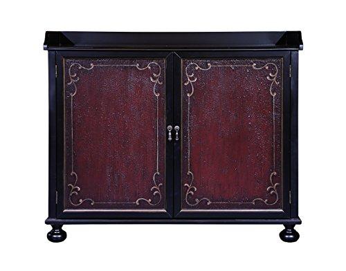 Pulaski P020000 Two Tone Hand Painted Wine Storage Bar Cabinet ()
