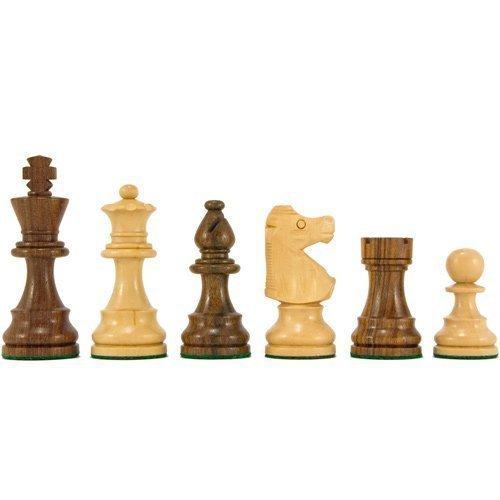 Französisch Knight-serie Staunton schachfiguren 3.25