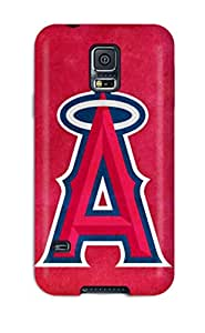 High Quality Shock Absorbing Case For Galaxy S5-anaheim Angels