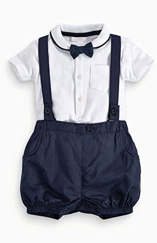 Zooarts Infant bebé niños Caballero Pajarita cinturón de Polo para ...