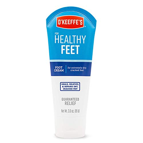 O'Keeffe's Healthy Feet Foot Cream, 3 ounce Tube (Best Lotion For Healthy Skin)