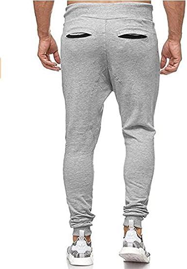 Pantalones Hombre Trabajo Multibolsillos Elasticos Pantalones ...