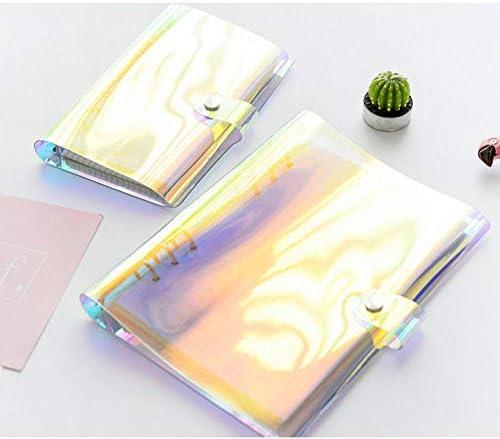 XRRRO Treibsand Laser Bunt A6 Loseblatt Kreatives Handbuch Notizbuch Notizblock-Treibsand A6 blau