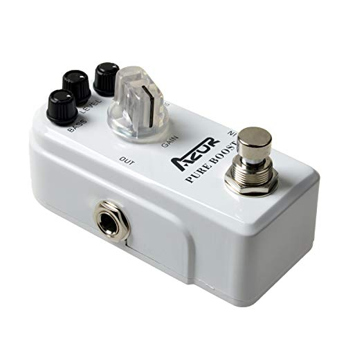 AZOR Pure Boost Guitar Effect Pedal Micro Clean Boost