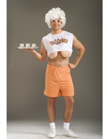 [Forum Novelties Inc Men's Droopers Costume Beige/White One Size] (Express Costume)