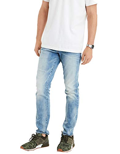 American Eagle Mens Ne(X) t Level Slim Jean, Authentic Light (36x32)