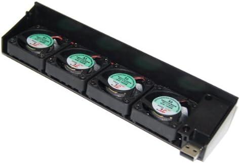 Gazechimp Enfriador De Enfriamiento Reservado De La Fan del USB 4 ...
