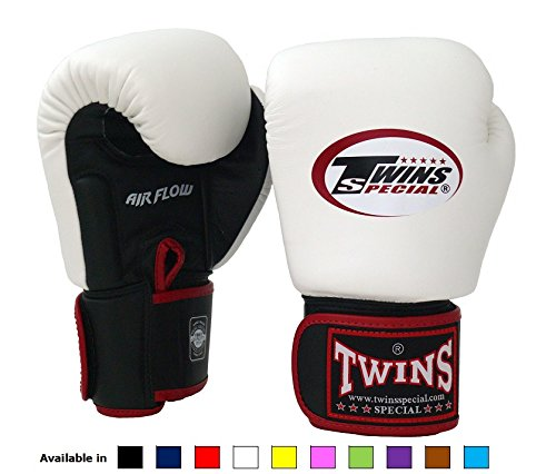 Twins Special Boxing Gloves 12oz (Black) - 6