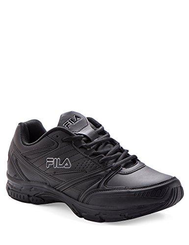 Fila Men's Memory King Leather Men's Footwear Black