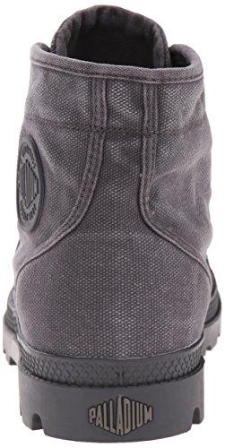Palladium Herren Pallabrouse Combat Boots Grau (forged Iron/brush Nickel 084)