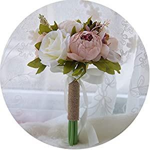 Style Artificial Wedding Bouquets for Brides Wedding Flowers Bouquets 11